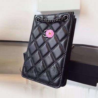 Iphone / Iphone puls小香链条手机包 原版羊皮