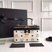 韩国潮牌MCM化妆包 时髦可爱小箱包
