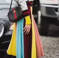 GUCCI新款 时尚彩带刺绣小蜜蜂 古驰迷你包 相机包