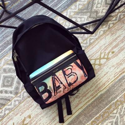 王思聪女友同款 YSL SLP字母Baby双肩包