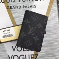 黑曜石男士系列 LV迷你卡包 证件夹 LV口袋零钱夹M61696