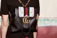 杨幂街拍同款GUCCI双肩包 甜心少女风GG Marmont背包432265