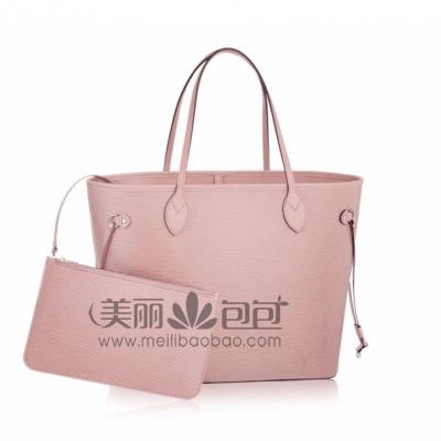 lv2018休闲度假风 多彩Epi皮革Neverfull购物袋