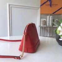 新颖时尚的lv链条包 多彩Epi皮革Alma bb贝壳包