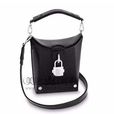 LV新款EPI牛皮BENTO BOX马鞍包 迷你包 锁头包