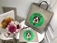 可爱的gucci古琦小狗系列手包化妆包506280