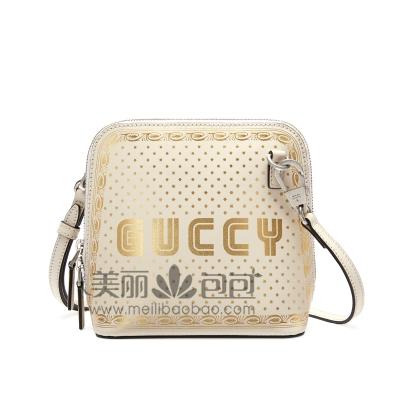 gucci2018春夏新款女包 星星花纹guccy迷你贝壳包511189
