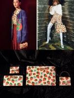 甜美气质的gucci zumi草莓系列手提包564714