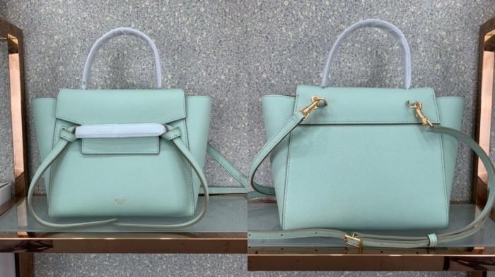 赛琳笑脸包尺寸_赛琳女包Belt鲶鱼包 所有颜色 尺寸 搭配示范-美丽包包名品网