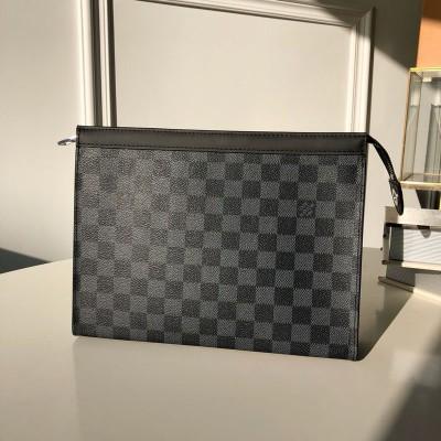 lv盥洗袋怎么样?pochette voyag手包图片与价格M61692