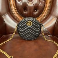 gucci GG Marmont古驰圆饼包街拍 款式图片与价格550154