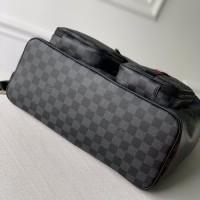 lv新款黑格男士背包 UTILITY双肩包图片与价格N40279