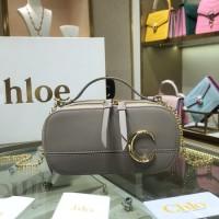 chloe c bag相机包色彩和材质  克洛伊迷你链条包图片价格