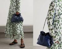 2020新款罗意威福袋 loewe flamenco水桶包 抽绳包11046A