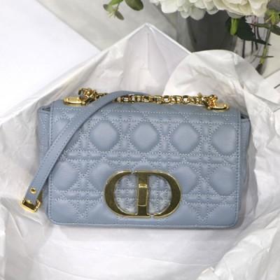 dior caro系列女士链条包颜色尺寸 迪奥藤格纹翻盖包价格9243
