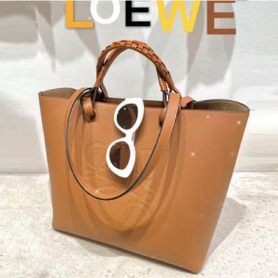 loewe anagram tote购物袋 罗意威新款编织手提包10933