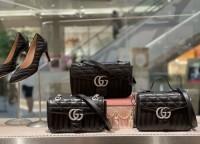 gucci GG Marmont系列新版绗缝包 古琦翻盖链条包443497